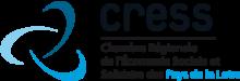 ceci est le logo du c r e s s, chambre régionale de l'économie sociale et solidaire des pays de loire