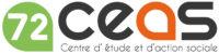 ceci est le logo du CEAS 72, centre d'étude et d'action sociale